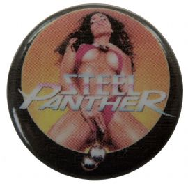 Steel Panther - 'Balls Out' Button Badge
